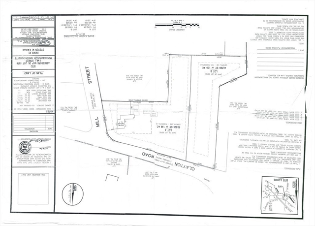 Lot B Clayton Road Middleboro MA 02346