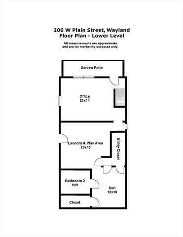 206 West Plain Street Wayland MA 01778