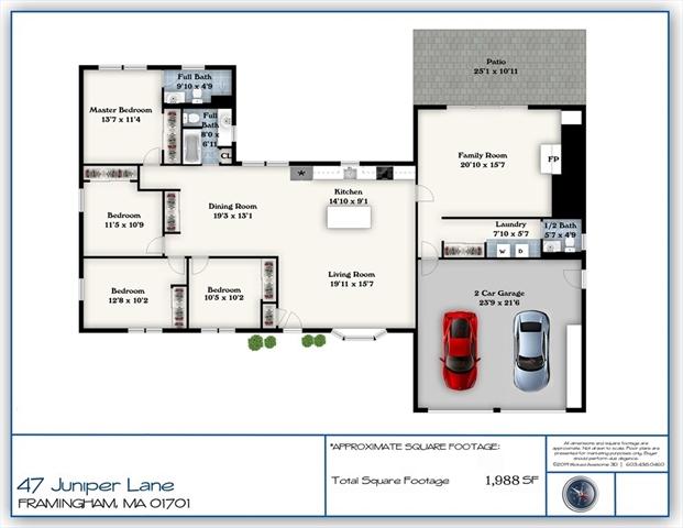 47 Juniper Lane Framingham MA 01701