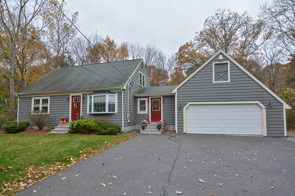 Come see what pride of ownership looks like!  This beautiful cape is ready for you and your guests!  The 3 beds, 2 baths,  and large fenced in yard is ready for you and your family to build memories.  Shake off the cold and make a mess in the large entry mud room with Washer dryer right there!  Plenty of storage in the two car garage and the basement can be taken in many different directions.  In a wonderful location near highways, restaurants, and shops.  This one will absolutely not last!  Get in just in time for Christmas!!