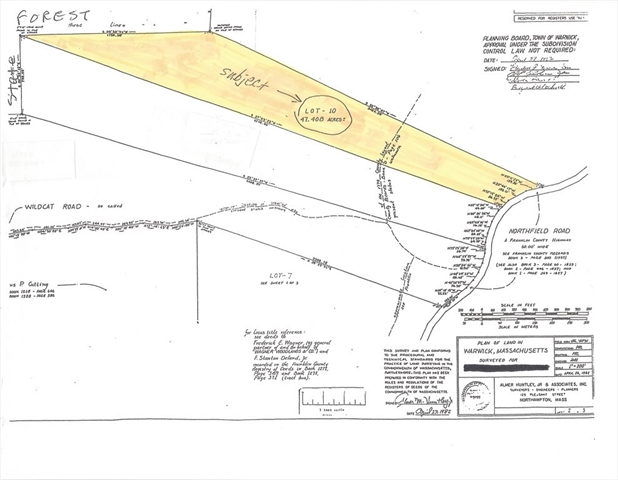 Lot, Northfield RD., 10 Warwick MA 01378