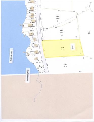 Lot 1 0 Shore Road Douglas MA 01516