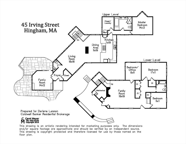 45 Irving Street Hingham MA 02043