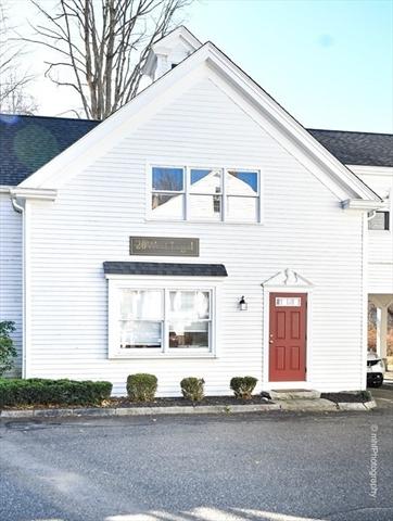 345 Boston Post Rd, Unit D Sudbury MA 01776