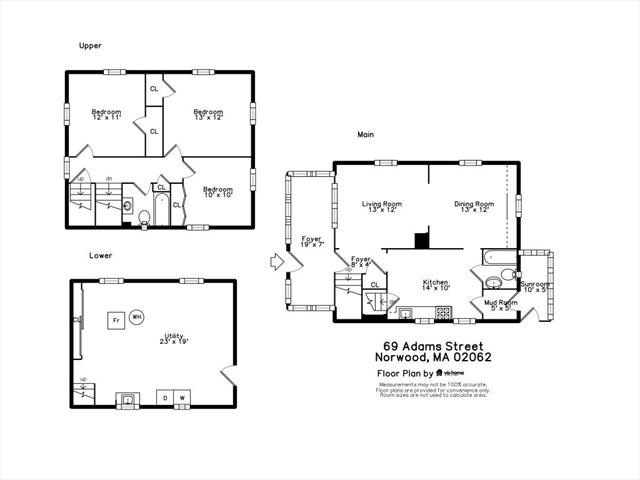69 Adams Street Norwood MA 02062