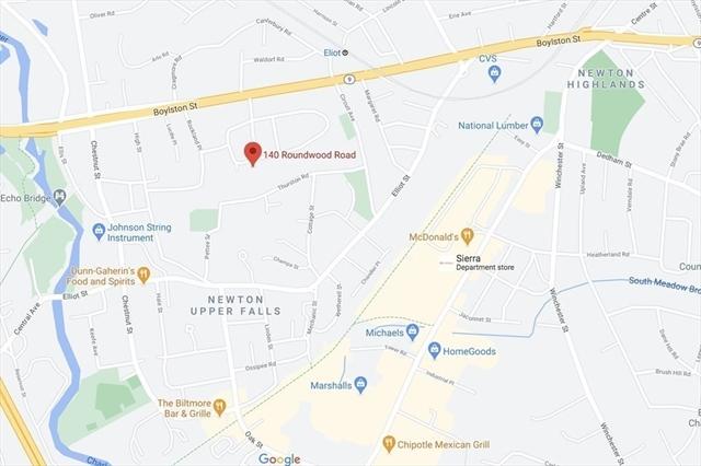 140 Roundwood Road Newton MA 02464