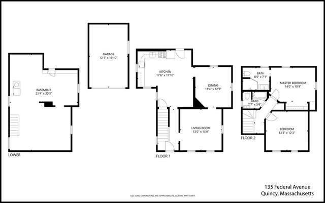 135 Federal Avenue Quincy MA 02169