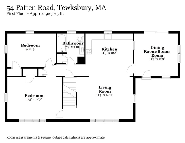 54 Patten Road Tewksbury MA 01876