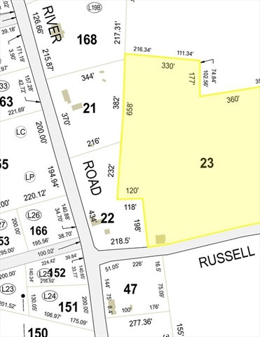 Lot 23 Russell Farm Road Winchendon MA 01475