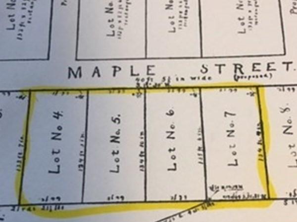 lot 4-7 Maple Street Orange MA 01364