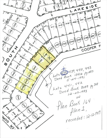 Lot 438 0 Cooper Road Webster MA 01570