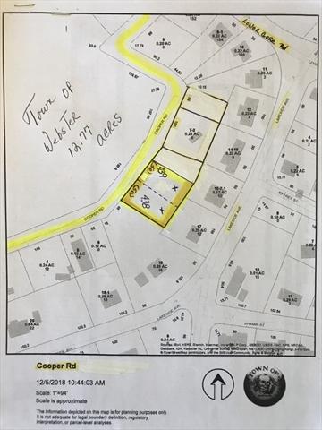 Lot 439 0 Cooper Road Webster MA 01570