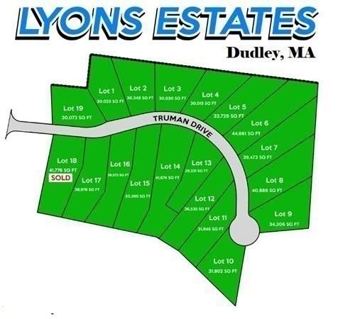 Lot 17 Truman Drive Dudley MA 01571