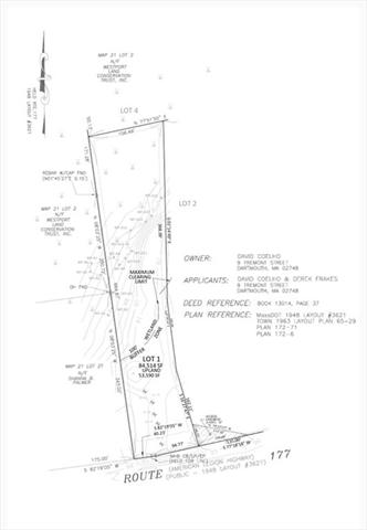 Lot A American LEGION Westport MA 02790