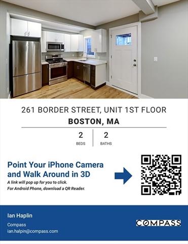 261 Border Street Boston MA 02128