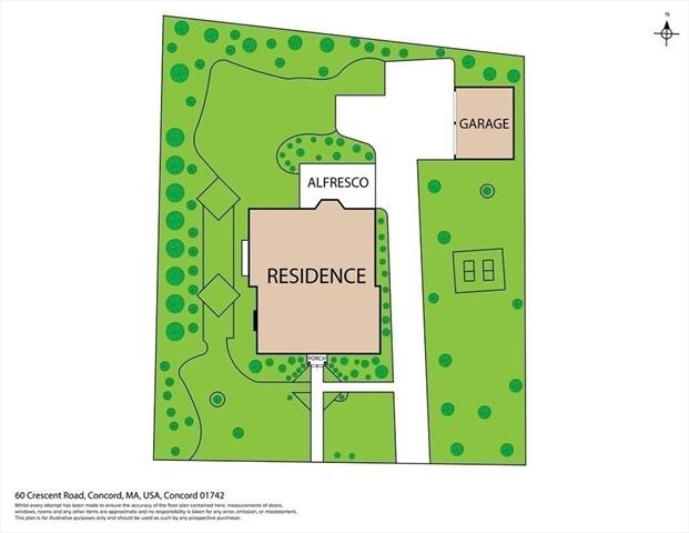 60 Crescent Road Concord MA 01742
