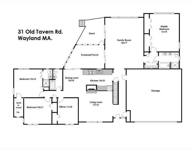 31 Old TAVERN Wayland MA 01778