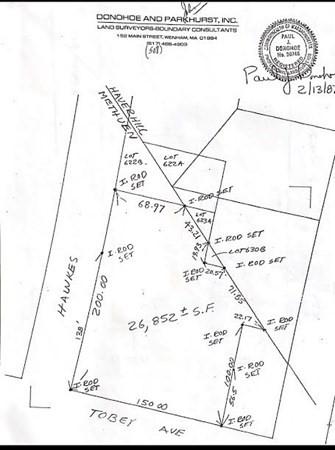 Tobey Avenue Methuen MA 01844