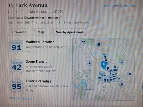 17 Park Avenue Northampton MA 01060
