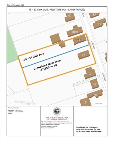 47-51 Oak Avenue, Newton, MA, 02465, Auburndale Home For Sale