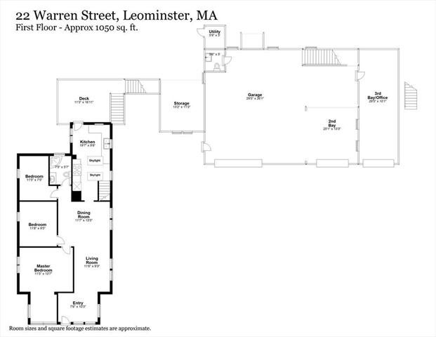 22 Warren Street Leominster MA 01453