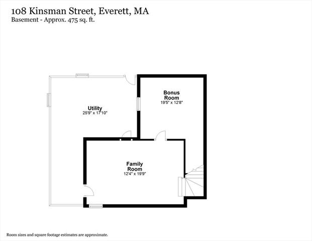 108 Kinsman Street Everett MA 02149
