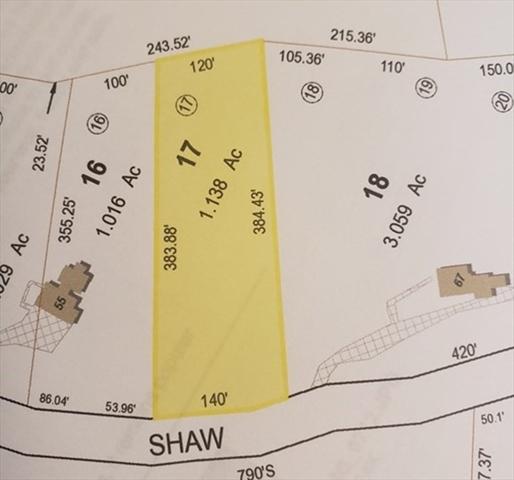 Lot 17 Shaw Street Belchertown MA 01007