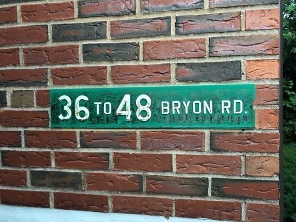 42 Bryon Road Boston MA 02132