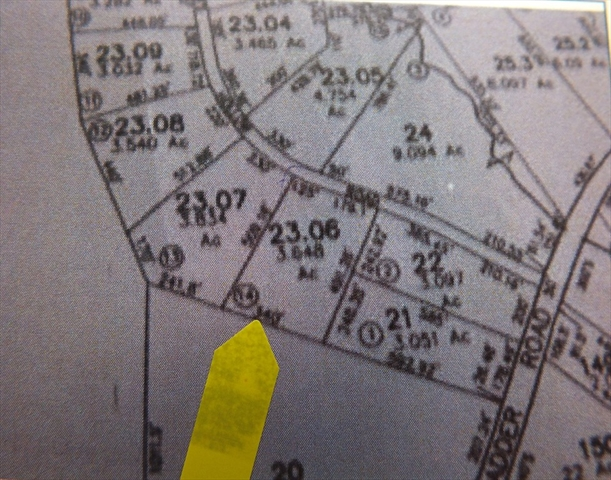 Lot 14 Jacobs Hollow Road Becket MA 01223