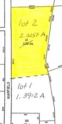 0 Warfield Road Lot 2, Charlemont, MA: $65,000