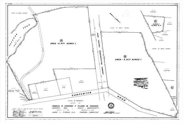22 Carpenter Road Dudley MA 01571