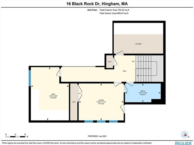 16 Black Rock Drive Hingham MA 02043