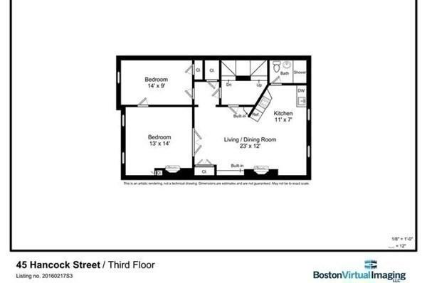 45 Hancock Street Boston MA 02114