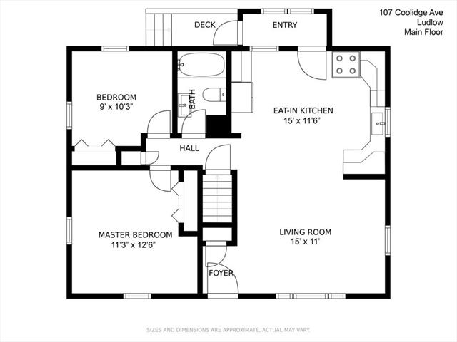 107 Coolidge Avenue Ludlow MA 01056