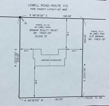 93 Lowell Road Pepperell MA 01463