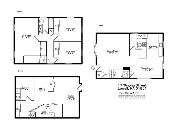 17 Winona Street Lowell MA 01851