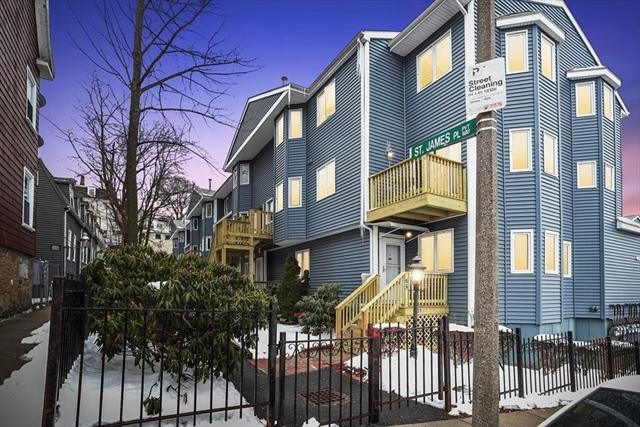 66 Saint James Place Boston MA 02119