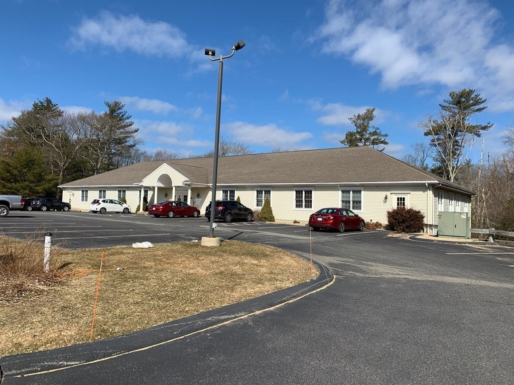 FREE 2 MONTHS RENT!! OFFICE SPACE - 3,665 SF. Minutes to Routes 495/18/79 MBTA and more. Space has waiting area, 8+ private offices, copy room, secure room, conference and meeting area, bullpen area, and kitchen/dining room.  Additional square footage can be added to this space.- inquire for details.