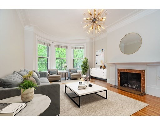 Pictures of  property for rent on Commonwealth Ave., Boston, MA 02116