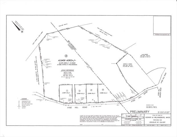 Lot 5 Hyde Hill Road Goshen MA 46526