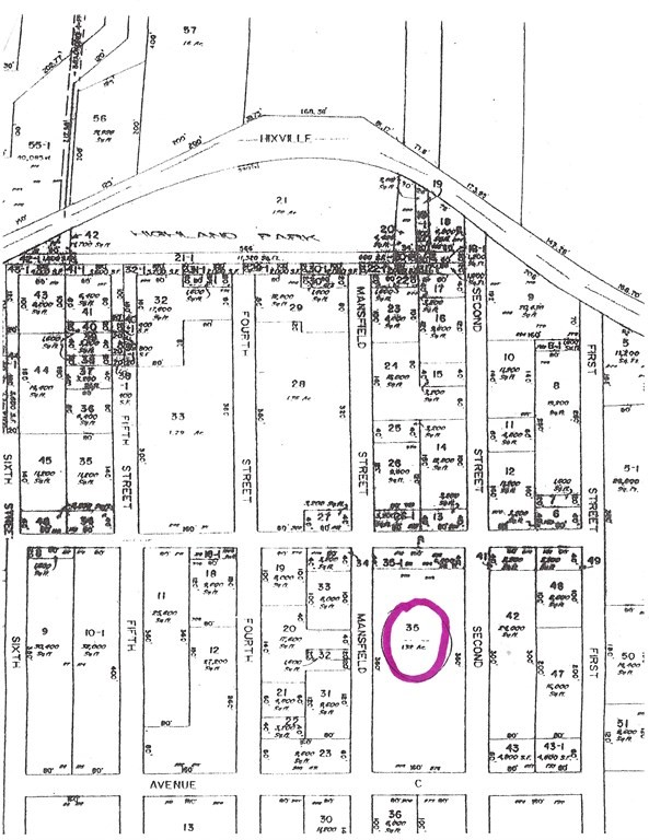 Good sized very private lot located on Hixville Rd access on Mansfield st. and Avenue  C  (paper Streets) No engineering has been done. Located approx 400 ft. from 716 Hixville.  Sold as is...See plot plan .Agent has no additional info.  Buyers please perform due diligence  before submitting offer.  Buy now and save!    Lot is 360 ft. by 160 ft.