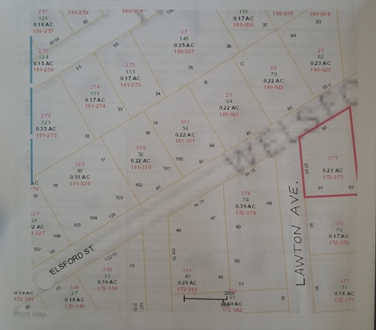 Lawton Street Brockton MA 02303