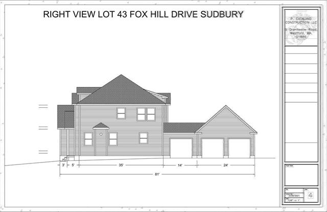 Lot 43 Fox Hill Road Sudbury MA 01776