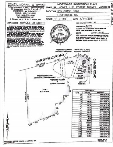 Lot 3 Northfield Road Lunenburg MA 01462
