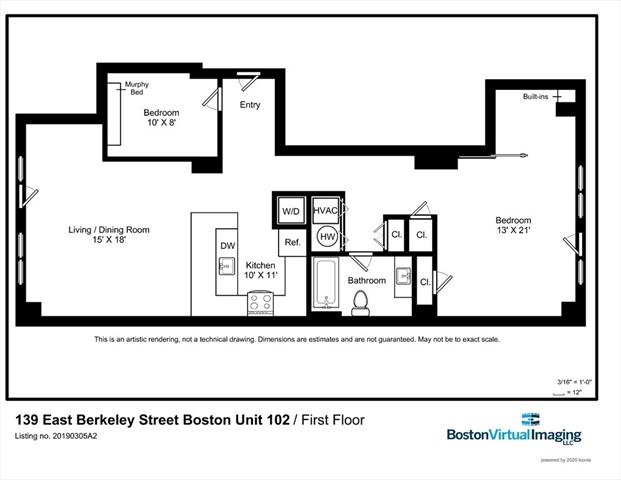 139 East Berkeley Street Boston MA 02118
