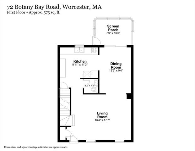 72 Botany Bay Road Worcester MA 01602