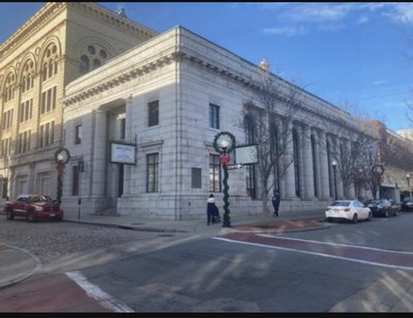 Historic Downtown New Bedford Landmark building.  The former Merchant's National Bank Building, BayCoast Bank and prior Oceana Restaurant.  This historic granite building is in immaculate condition inside and out.  The detail on the inside is priceless and irreplaceable in today's building world.  The building is currently set up as a Bank and would be best suited for a bank to lease.  Owner will entertain lease options.  There is a drive-thru.  Wide open floor plan with a mezzanine level that overlooks the lobby.  Includes 4 half baths, break room, multiple offices.  This landmark building sits in a busy area close to City Hall, Post Office, MA State Office Space, Bristol County CC & UMASS Dartmouth CBPA Star Store Campus.  Easy access to Rt. 140 and I-195.  Convenient to SRTA bus terminal, public parking and approximately 1 mile to the planned MBTA New Bedford Station.  This mixed use building would also make an excellent Restaurant, Brewery or Night Club.