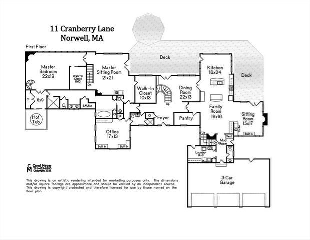 11 Cranberry Lane Norwell MA 02061