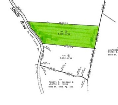 0 Middle Road Lot 2, Hawley, MA: $45,000