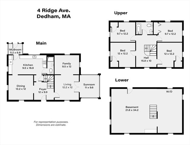 4 Ridge Avenue Dedham MA 02026